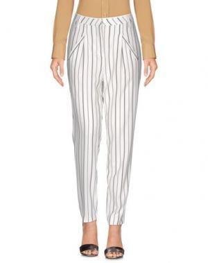 Повседневные брюки FIVEUNITS. Цвет: белый