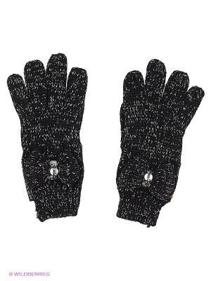 Перчатки Young Reporter. Цвет: черный