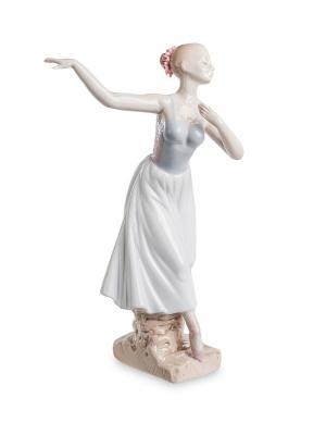 Статуэтка Балерина Pavone. Цвет: белый