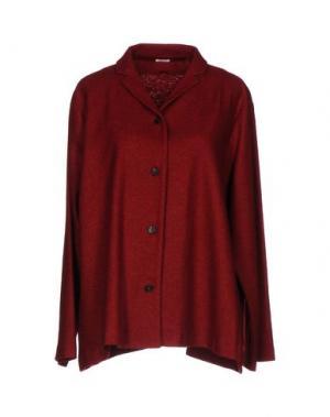 Пиджак A.B APUNTOB. Цвет: кирпично-красный