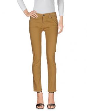Джинсовые брюки PAUL & JOE SISTER. Цвет: коричневый