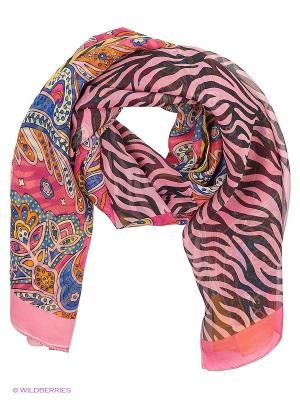 Парео текстильное Vittorio Richi. Цвет: розовый, голубой, сиреневый