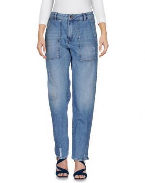 Джинсовые брюки SMITH'S AMERICAN. Цвет: синий