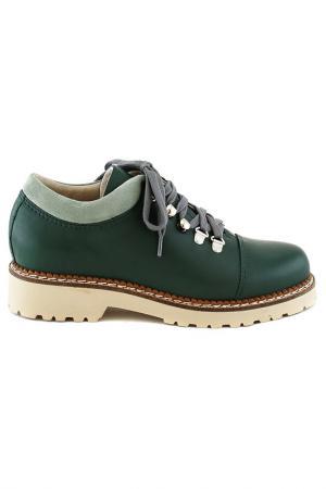 Ботинки Elena. Цвет: мятный