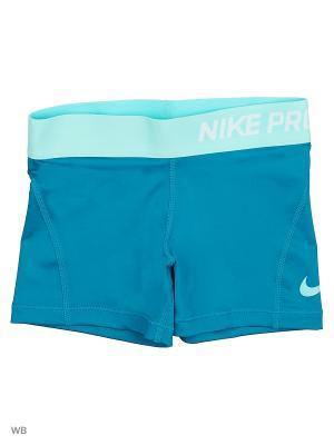 Шорты G NP CL SHORT BOY Nike. Цвет: синий, голубой
