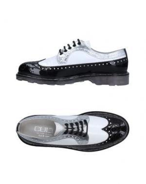 Обувь на шнурках CULT. Цвет: белый