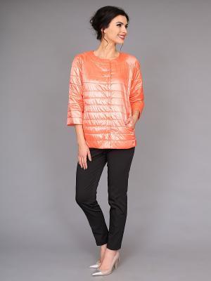 Куртка nasha. Цвет: оранжевый