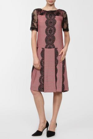 Платье Poustovit. Цвет: красный
