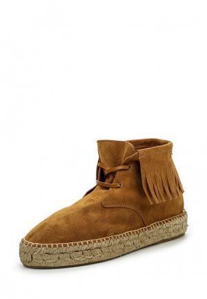 Ботинки Cuple. Цвет: коричневый