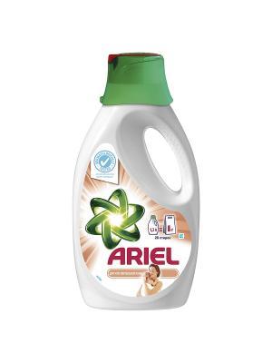 Гель для стирки чувствительной кожи 1.3л Ariel. Цвет: белый, зеленый