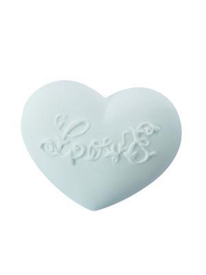Ароматические украшения Сердце Любовь, аромат Янтарное Mathilde M. Цвет: белый