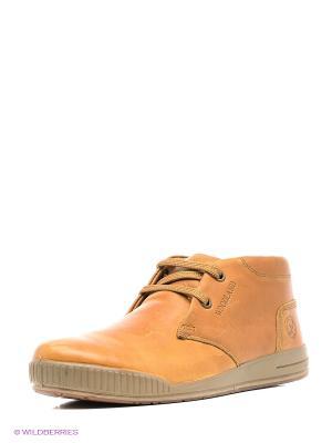 Ботинки WOODLAND. Цвет: светло-коричневый, бежевый