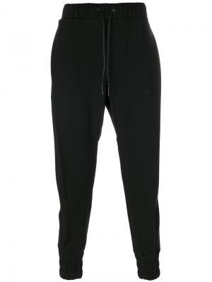 Спортивные брюки D.Gnak. Цвет: чёрный