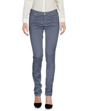 Повседневные брюки ROŸ ROGER'S CHOICE. Цвет: серый