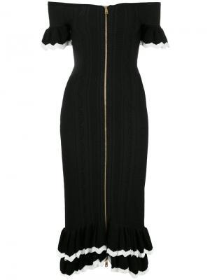 Платье Just Because Alice Mccall. Цвет: чёрный