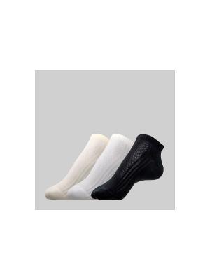 Носки CONTE Elegant. Цвет: бежевый, белый, черный