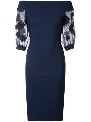 Платье Elke Chiara Boni La Petite Robe. Цвет: синий
