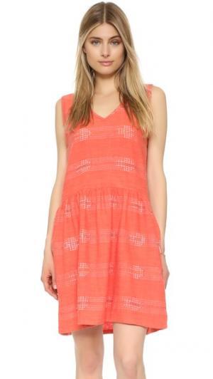 Платье Fiesta ace&jig. Цвет: оранжевый
