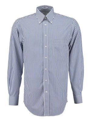 Рубашка Andrew. Цвет: синий