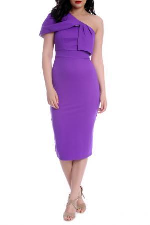 Платье Emma Monti. Цвет: фиолетовый