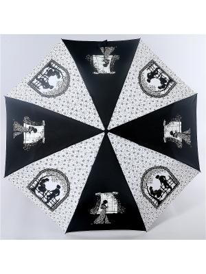 Зонт Zest. Цвет: черный, белый
