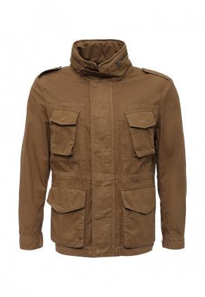 Куртка Cortefiel. Цвет: коричневый