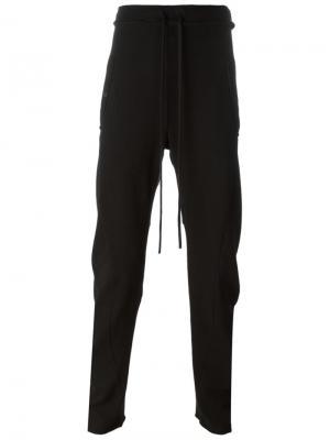 Узкие брюки с декоративным швом Lost & Found Ria Dunn. Цвет: чёрный