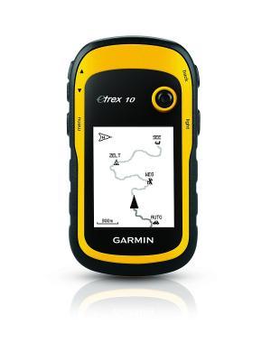 Туристический навигатор eTrex 10 GPS GARMIN. Цвет: желтый