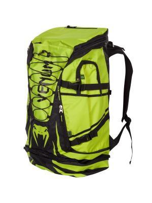 Рюкзак Venum Challenger Xtreme Back Pack - Black/Yellow. Цвет: черный, желтый