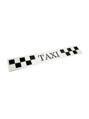 Такси-Магнит Для Притяжения Клиентов, 900Х60, Желтый Оранжевый Слоник. Цвет: желтый