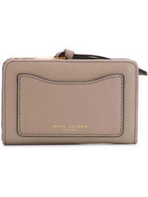 Компактный кошелек Recruit Marc Jacobs. Цвет: серый
