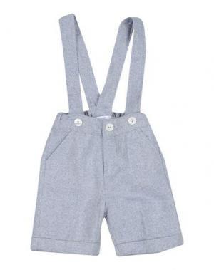 Повседневные брюки GUSELLA. Цвет: небесно-голубой