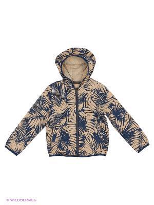 Куртка Sisley Young. Цвет: бежевый