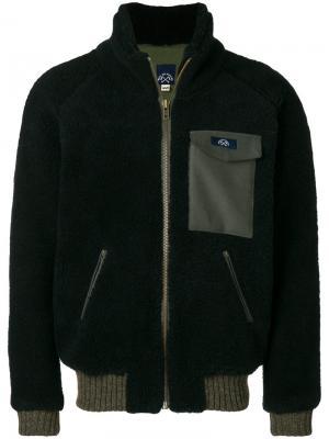 Куртка Polaire Bleu De Paname. Цвет: чёрный