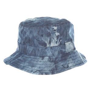 Панама  Walsh Bucket Hat Acid Blue Globe. Цвет: синий,голубой