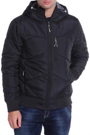 Куртка Bench. Цвет: черный