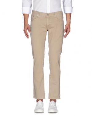 Джинсовые брюки DEPARTMENT 5. Цвет: песочный