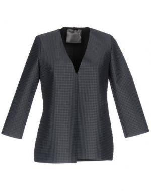 Пиджак ES'GIVIEN. Цвет: свинцово-серый