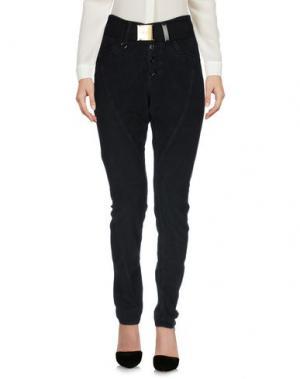 Повседневные брюки HIGH. Цвет: темно-синий
