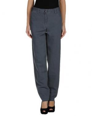 Повседневные брюки RE.SET. Цвет: свинцово-серый