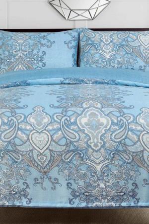 Постельное белье 2,0 сп, 50x70 СIOCCOLATO. Цвет: голубой
