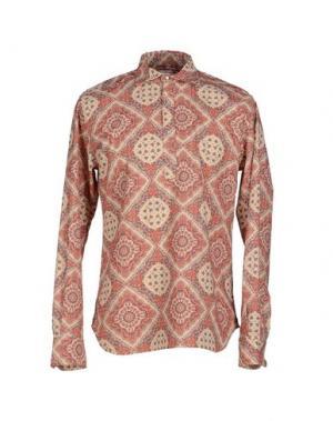 Pубашка ALAIN FRACASSÍ. Цвет: коралловый