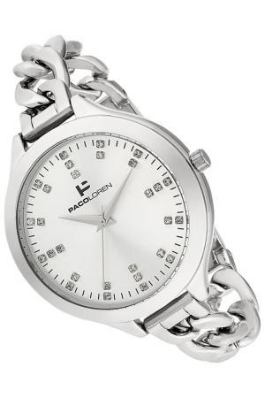 Часы PACO LOREN. Цвет: серебряный