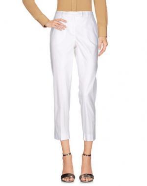 Повседневные брюки MARELLA SPORT. Цвет: белый