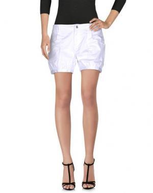 Повседневные шорты PF PAOLA FRANI. Цвет: белый
