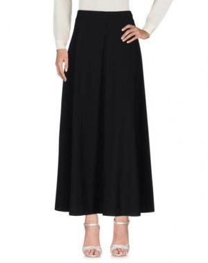 Длинная юбка ..,MERCI. Цвет: черный