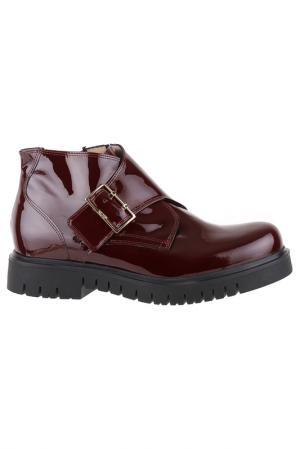 Ботинки norma j baker. Цвет: каштановый