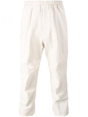 Укороченные брюки Morton By Walid. Цвет: телесный