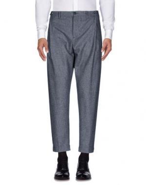 Повседневные брюки G.T.A. MANIFATTURA PANTALONI. Цвет: свинцово-серый