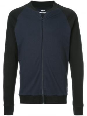 Куртка на молнии с контрастной отделкой Mads Nørgaard. Цвет: чёрный